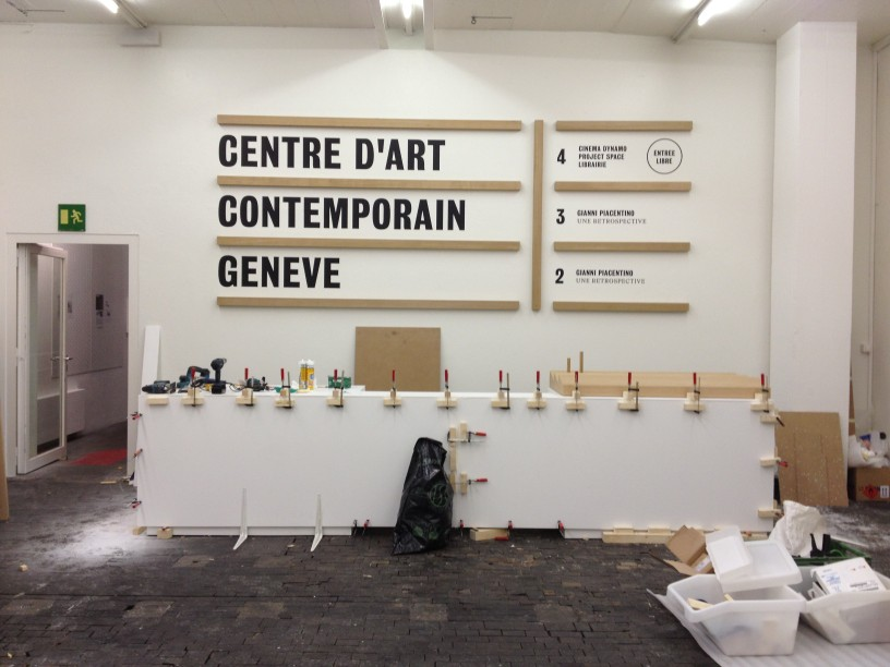 Centre d art contemporain gen ve fabien pont for Art contemporain geneve
